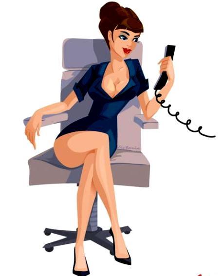 Женщина начальник прикольные картинки, сделать открытку своими