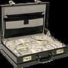 Смайлик Дипломат с деньгами аватар