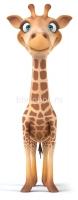 Испуганный жирафик
