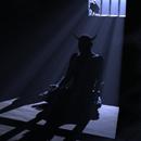 Смайлик Дьявол в тюрьме аватар