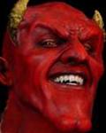 Смайлик Хитрый дьявол аватар