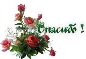 Спасибо! Букет роз