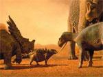 Доисторический мир. Диназавры собрались смайлики картинки