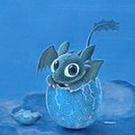 Динозаврик вылупляется из яйца смайлики картинки