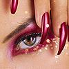 Смайлик Глаз и ногти аватар