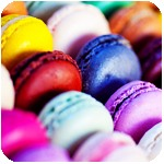 Гиф gif Разноцветные пончики рисунок