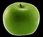 Картинка Яблоко зеленое анимация