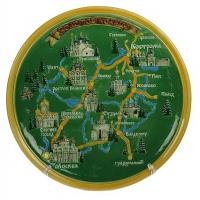 Карта Москвы и Московской области – подарок путешественникам