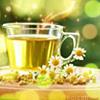 Чай с ромашками картинки смайлики