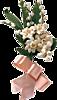 Картинка Розовый букет с розовой ленточкой анимация