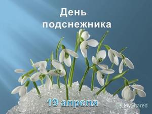 Открытки. 19 апреля День <b>подснежника</b>! Пригорок <b>с</b> цветами картинки смайлики