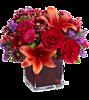 Смайлик Букет с лилиями аватар