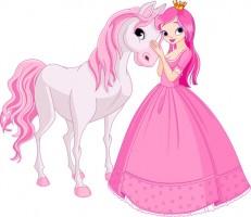 Принцесса с лошадкой