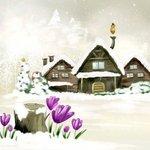 В гостях у сказки-подснежники на снегу