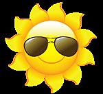 Солнышко в очках