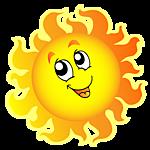 Картинка Солнечный задор анимация
