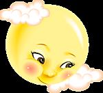Смайлик Солнышко осматривает мир аватар