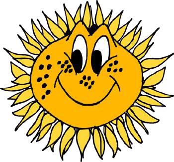 Улыбнувшееся солнце смайлики картинки