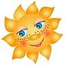 Солнце в веснушках смайлики картинки