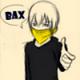 Картинка Кид масаоми в жёлтом платке показывает пальцами пистолет ... анимация