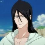 Смайлик Кучики на пляже из аниме блич аватар