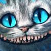 Улыбка чеширского кота из фильма «алиса в стране чудес