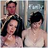 Гиф gif (family) из сериала «зачарованные рисунок