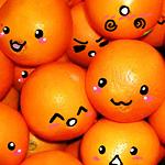 Гиф gif Эмоциональный апельсинки рисунок