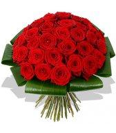Букет прекрасных красных роз (23)