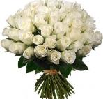 Картинка Белые розы. Букет анимация