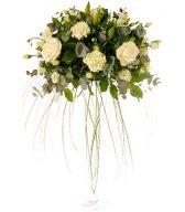 Смайлик Белые розы. Букет (6) аватар