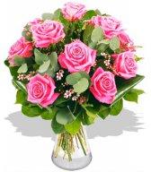 Букет из розовых роз (14)