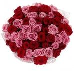 Букет прекрасных красных роз (2)