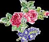 Розы и колокольчики смайлики картинки