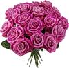 Красивый букет роз бардовых