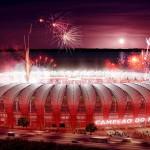 Картинка Порту-Алегри. Стадион Бейра Рио анимация