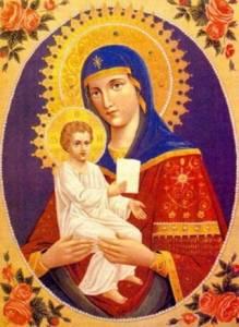 Картинка Цареградская икона Божией Матери анимация