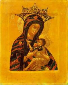 Гиф gif Арапетская или Аравийская (О Всепетая Мати) икона Божией ... рисунок
