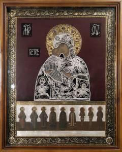 Картинка Владимирская (Оранская) икона Божией Матери (1) анимация