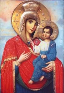 Гиф gif Скоропослушница икона Божьей Матери (2) рисунок