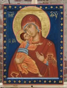 Смайлик Икона Божьей матери Владимирская (10) аватар