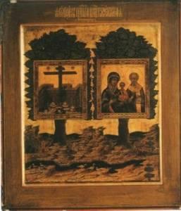 Картинка Оковецкая (Ржевская) икона Божией Матери (1) анимация
