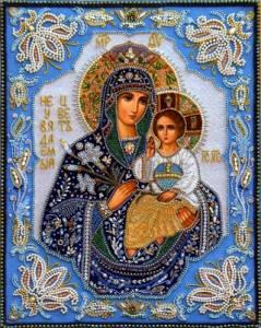 Гиф gif Неувядаемый Цвет икона Божией Матери (9) рисунок