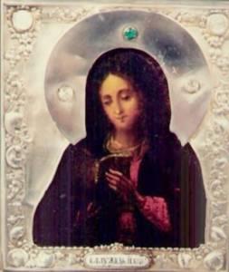 Гиф gif Калужская икона Божией Матери (4) рисунок