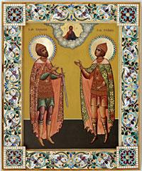 Смайлик Икона Борис и Глеб (2) аватар