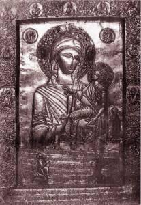 Гиф gif Гелатская икона Божией Матери рисунок