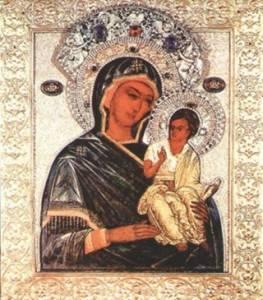 Картинка Чирская (Псковская) икона Божией Матери (1) анимация
