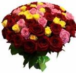 Прекрасные букеты из самых разных цветов (94)