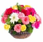 Прекрасные букеты из самых разных цветов (72)