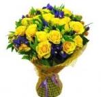 Прекрасные букеты из самых разных цветов (36)
